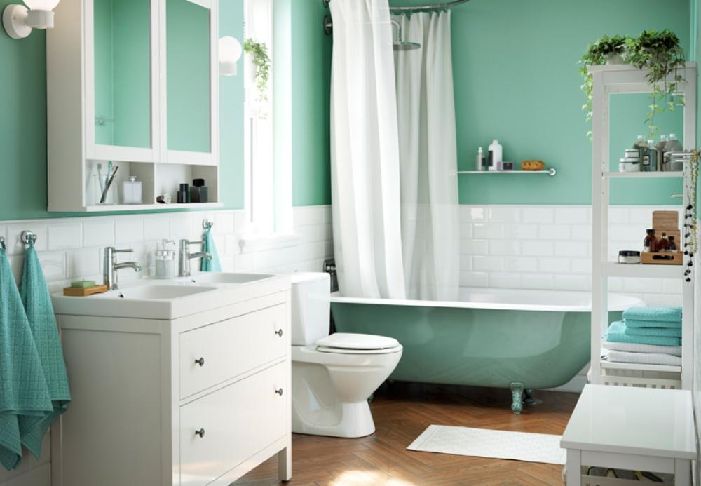 Pr parer la salle de bain avant un check in bnbstaging le blog - Foto bagni ikea ...