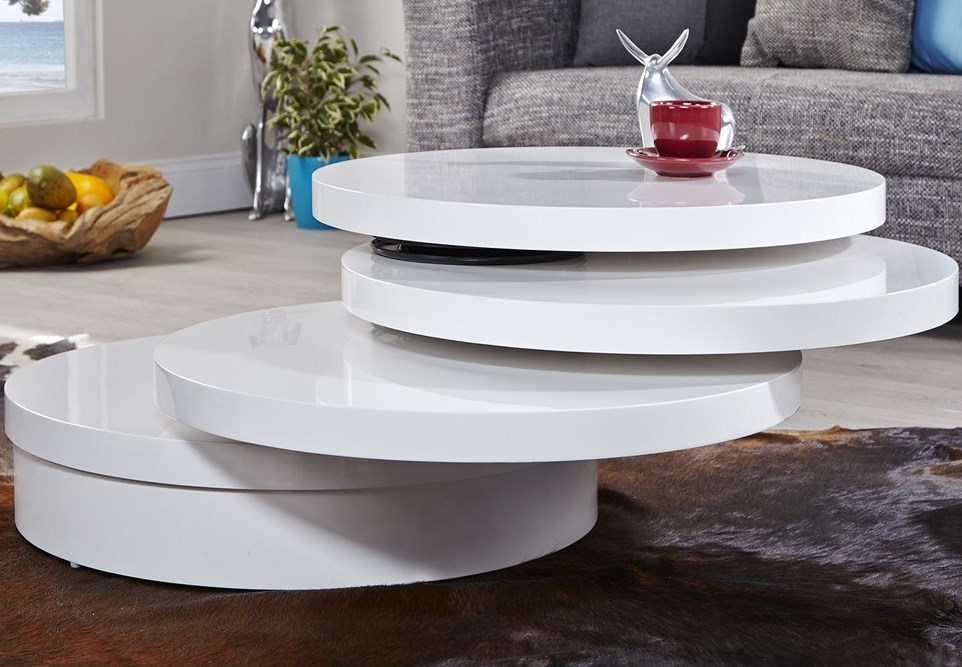 Comment choisir une table basse multifonction for Table de salon ronde design