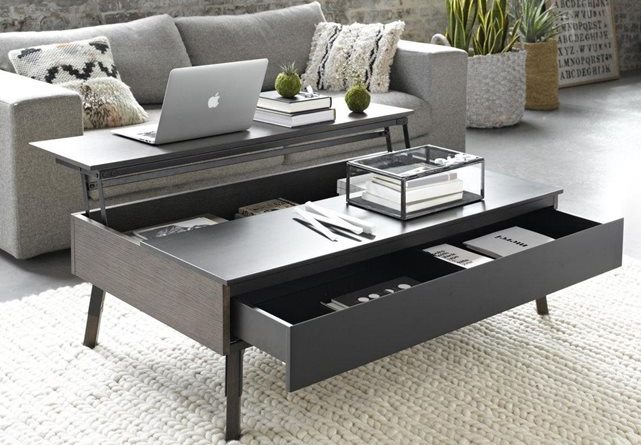 comment choisir une table basse multifonction. Black Bedroom Furniture Sets. Home Design Ideas