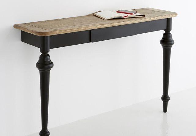 diy pour fabriquer une console avec une table bnbstaging le blog. Black Bedroom Furniture Sets. Home Design Ideas