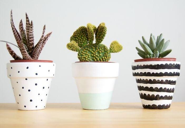 Diy Customiser Des Pots De Fleurs En Terre Bnbstaging Le Blog
