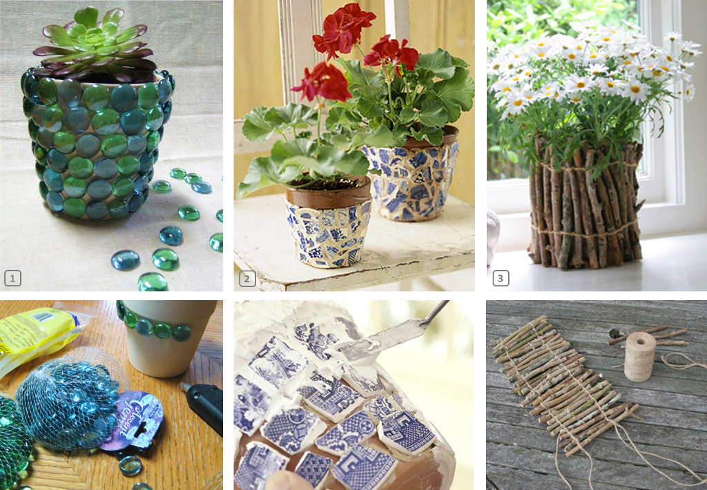 Diy customiser des pots de fleurs en terre bnbstaging le blog - Pot de fleur levitation ...