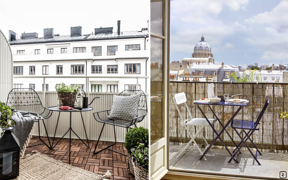 6 conseils pour optimiser un petit balcon bnbstaging le blog. Black Bedroom Furniture Sets. Home Design Ideas