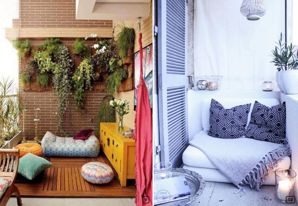 6 conseils pour optimiser un petit balcon bnbstaging le blog. Black Bedroom Furniture Sets. Home Design Ideas