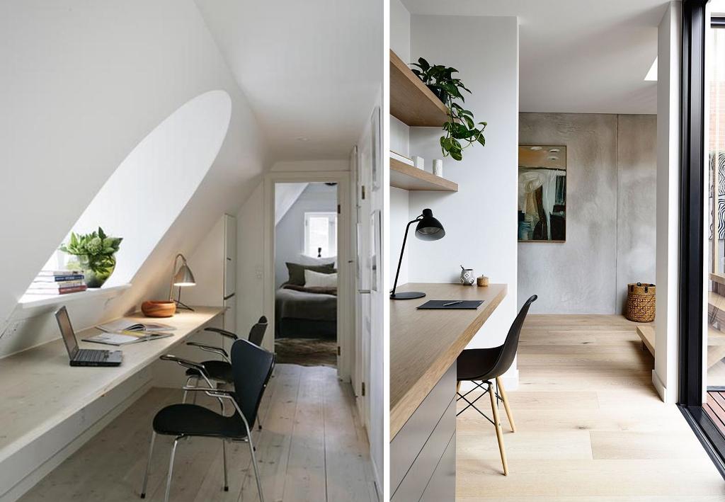 20 bureaux ing nieux pour petits espaces bnbstaging le blog. Black Bedroom Furniture Sets. Home Design Ideas