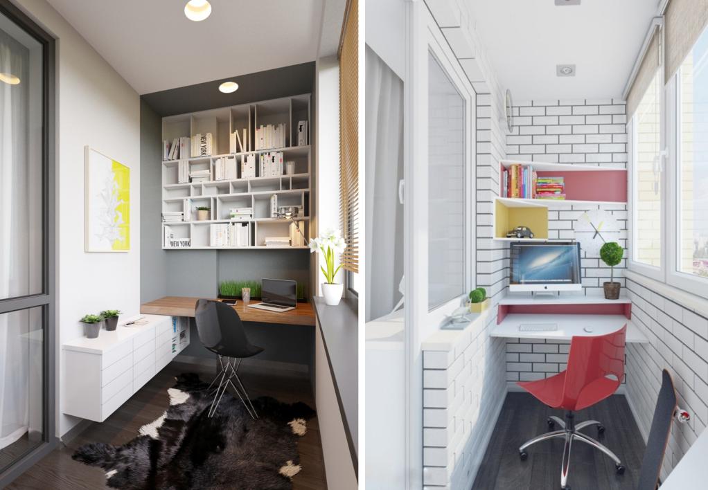 Alcove Maison : Bureaux ingénieux pour petits espaces bnbstaging le