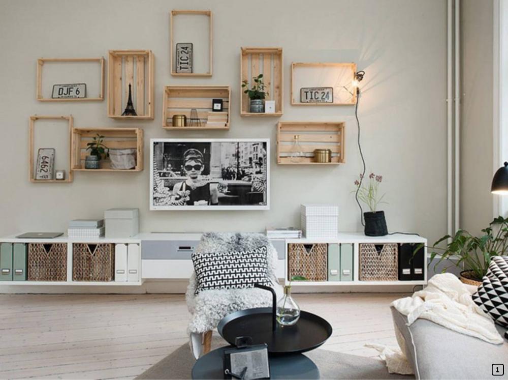 Cagettes à pommes en bois: 15 créations DIY - BnbStaging le blog