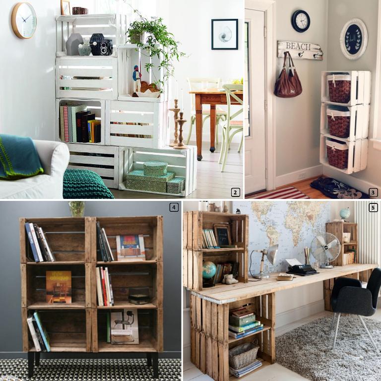 cagettes pommes en bois 15 cr ations diy bnbstaging le blog. Black Bedroom Furniture Sets. Home Design Ideas