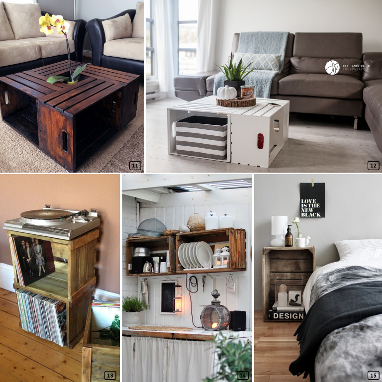meuble avec cagette gallery of papier with meuble avec cagette top raliser un meuble dco avec. Black Bedroom Furniture Sets. Home Design Ideas