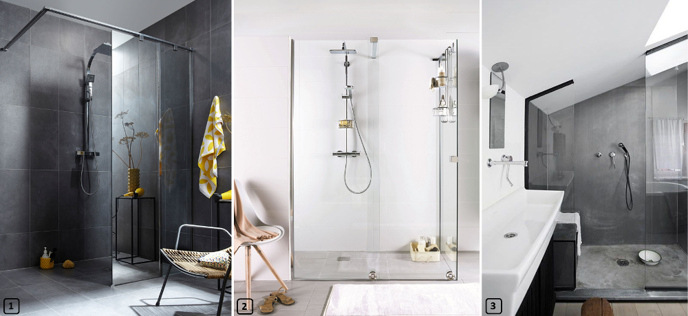 5 rev tements de sol pour une douche italienne bnbstaging le blog. Black Bedroom Furniture Sets. Home Design Ideas