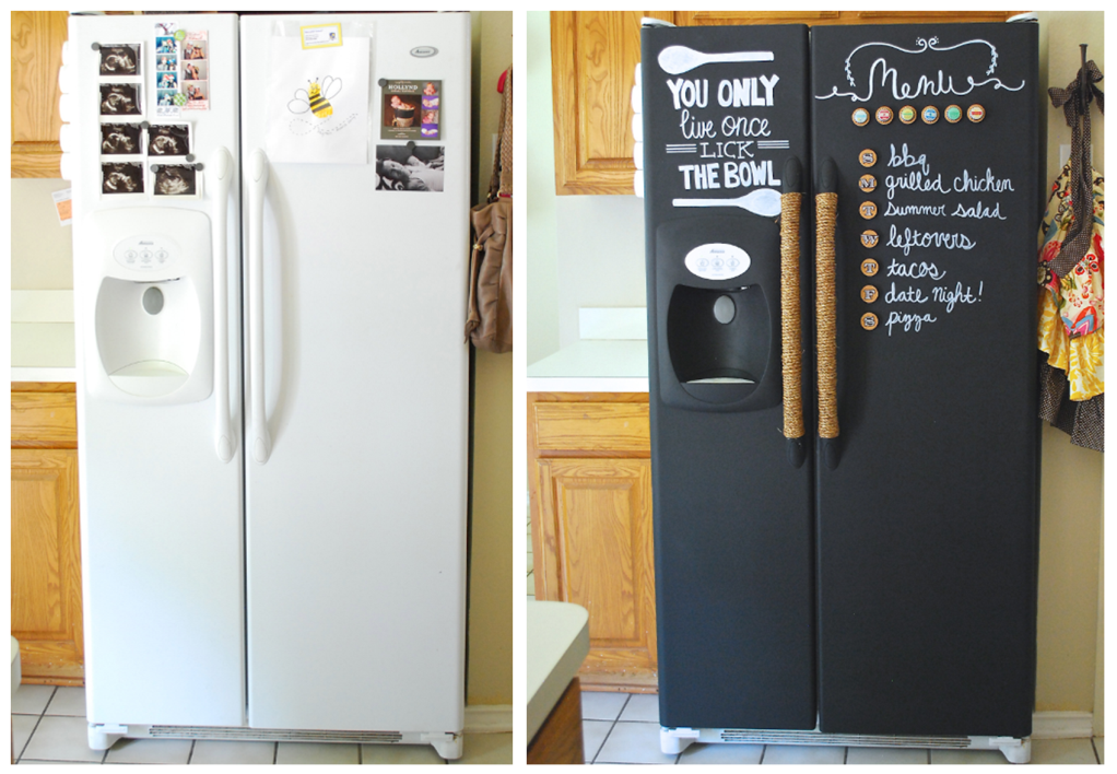 Comment customiser le frigo de votre location for Decoration porte frigidaire