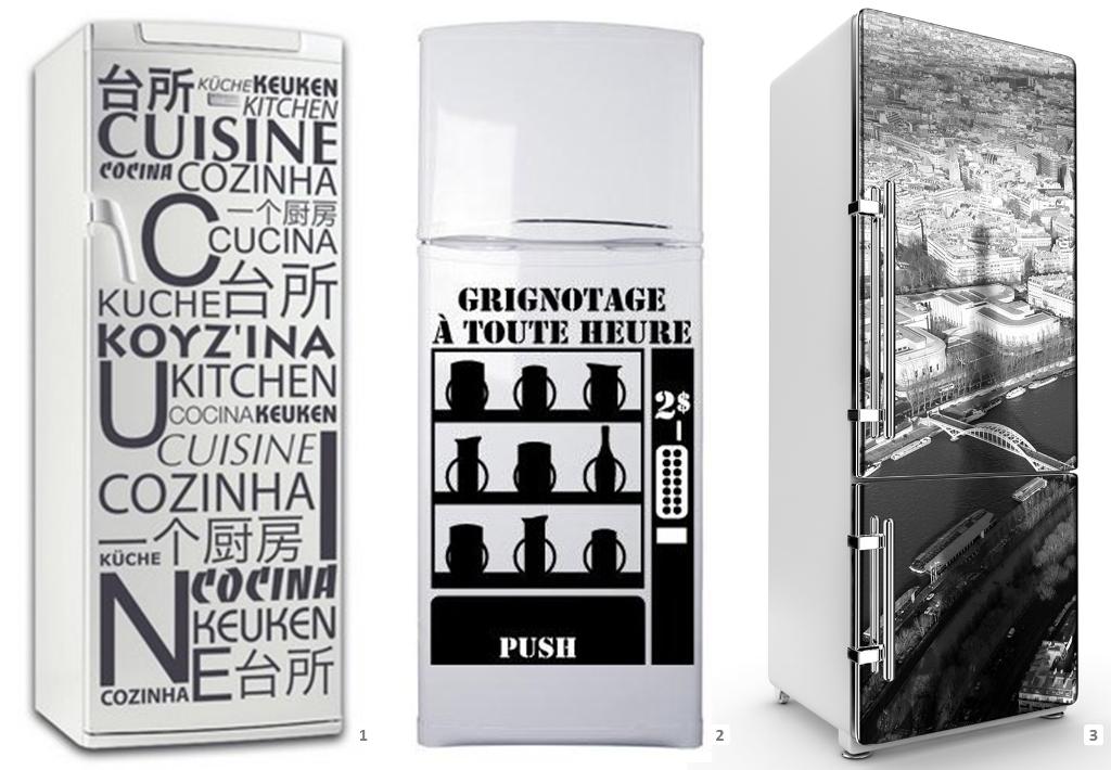 Comment customiser le frigo de votre location - Peinture pour electromenager ...
