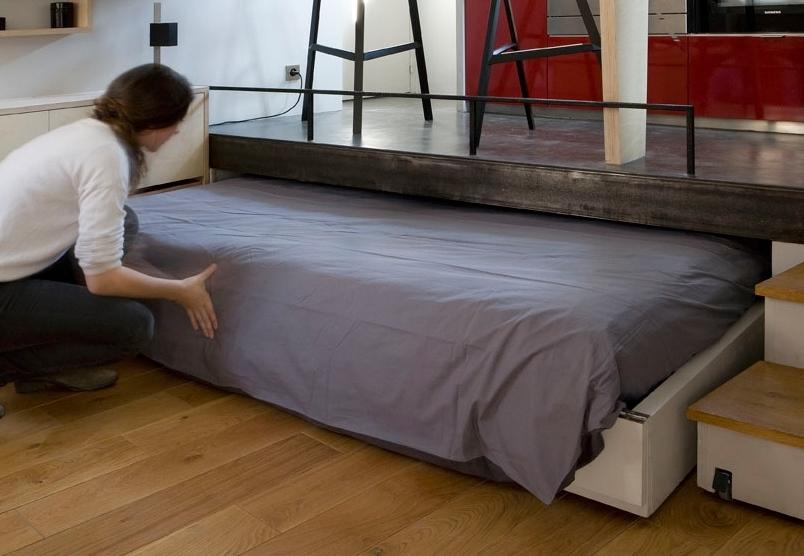 Des lits gain d\'espace pour votre location - BnbStaging le blog