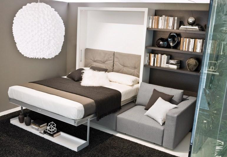 Des lits gain d 39 espace pour votre location bnbstaging le for La maison du covertible