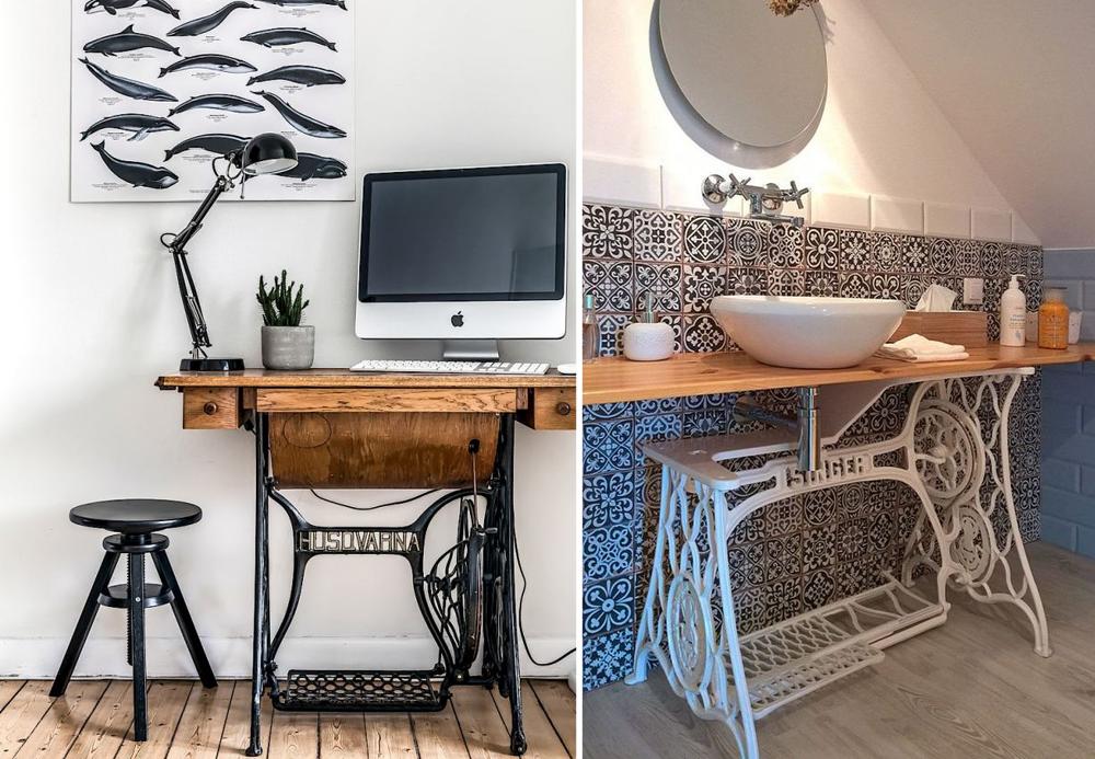 id es pour d tourner une machine coudre bnbstaging le blog. Black Bedroom Furniture Sets. Home Design Ideas