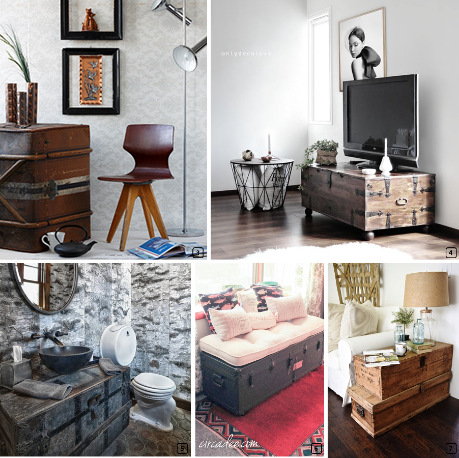 malles anciennes atout d co r cup 39 pour location bnbstaging le blog. Black Bedroom Furniture Sets. Home Design Ideas