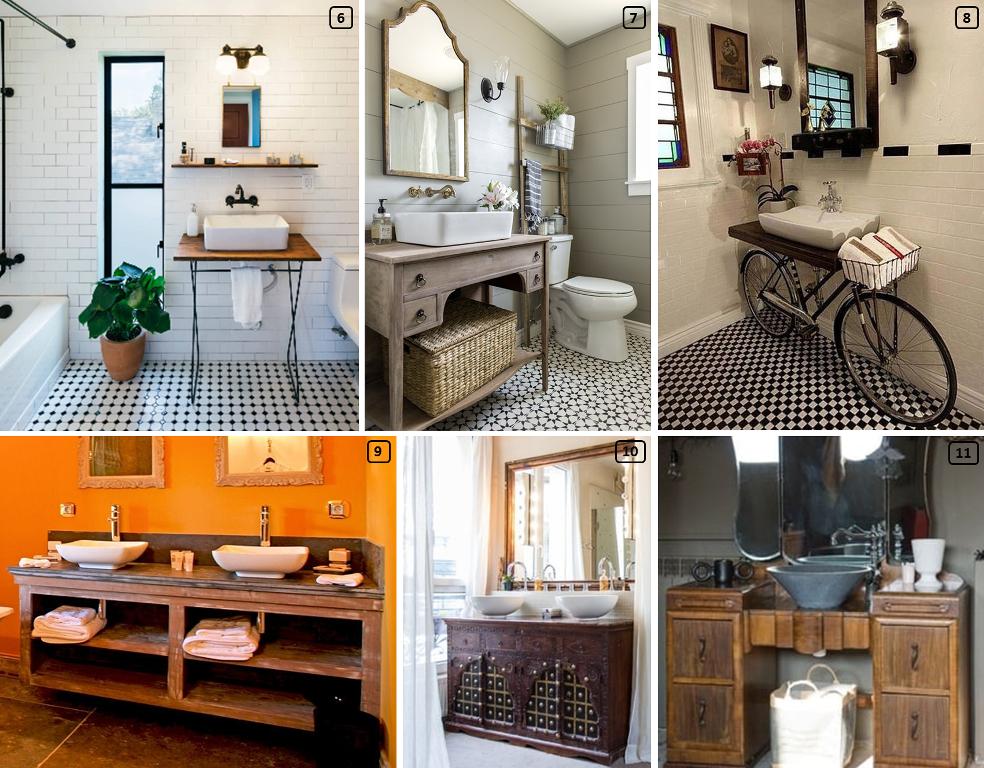Id es de meubles pour vasques originaux bnbstaging le blog for Meuble vasque original