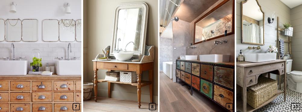 10 id es de meubles vasques r cup bnbstaging le blog - Salle de bain recup ...