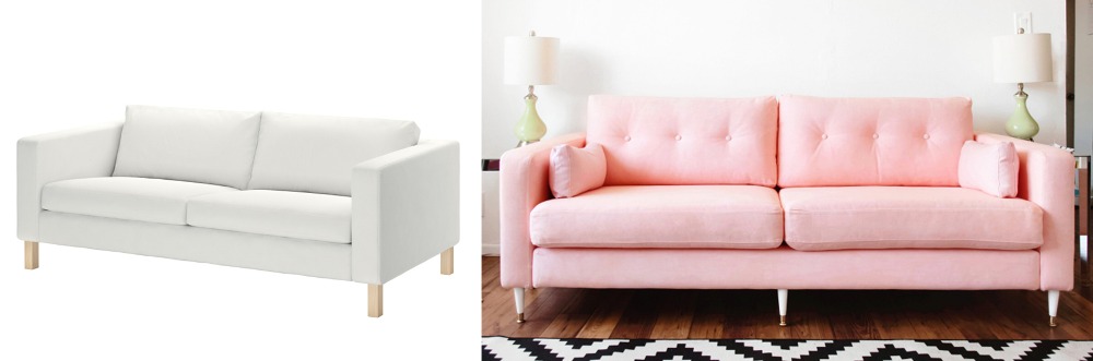 Give your old sofa a makeover - BnbStaging le blog