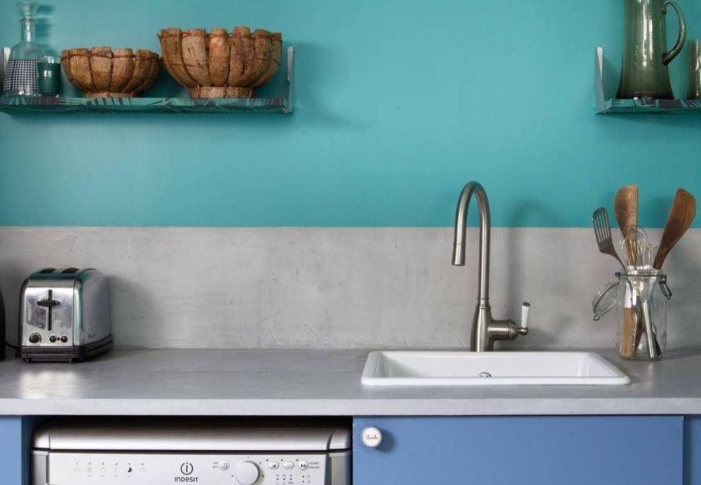 r novation recouvrir un plan de travail cuisine. Black Bedroom Furniture Sets. Home Design Ideas