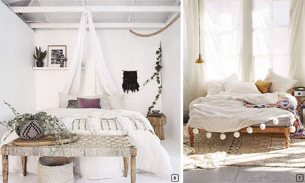 d co boh me chic une chambre romantique bnbstaging le blog. Black Bedroom Furniture Sets. Home Design Ideas