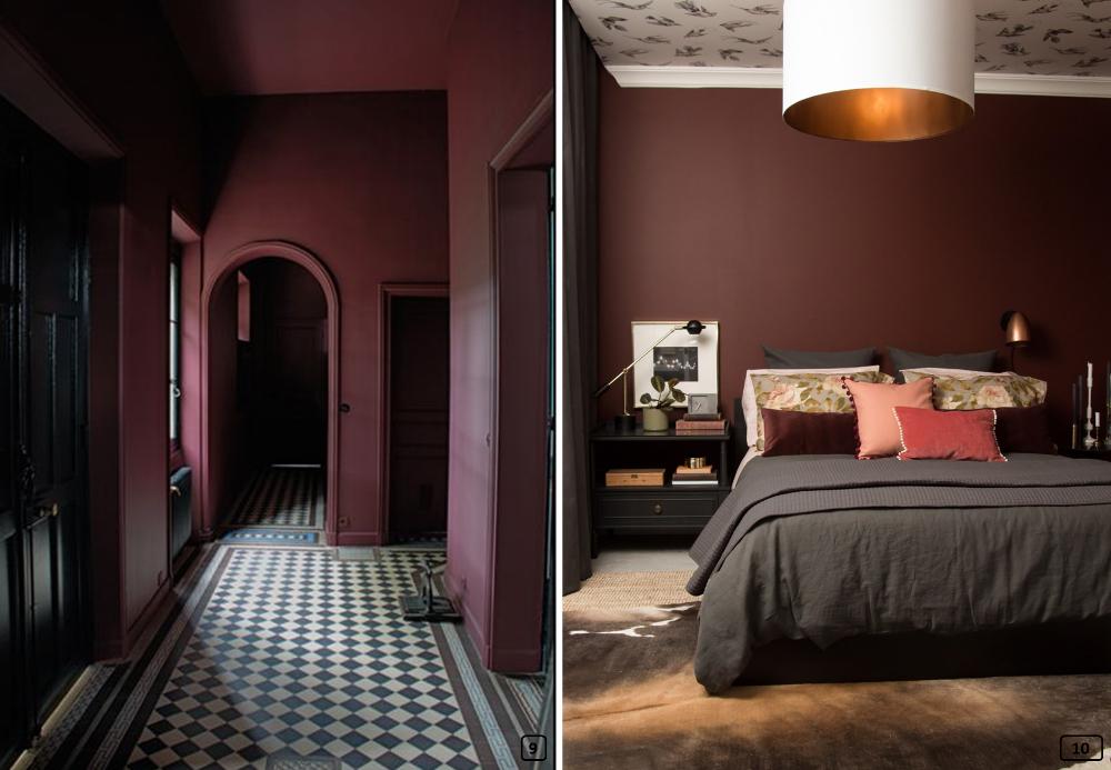 bordeaux couleur de l 39 hiver 2017 en d co bnbstaging le blog. Black Bedroom Furniture Sets. Home Design Ideas