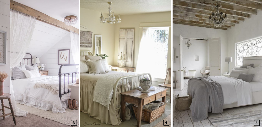 Une chambre style campagne chic en 7 tapes bnbstaging for Deco maison campagne chic