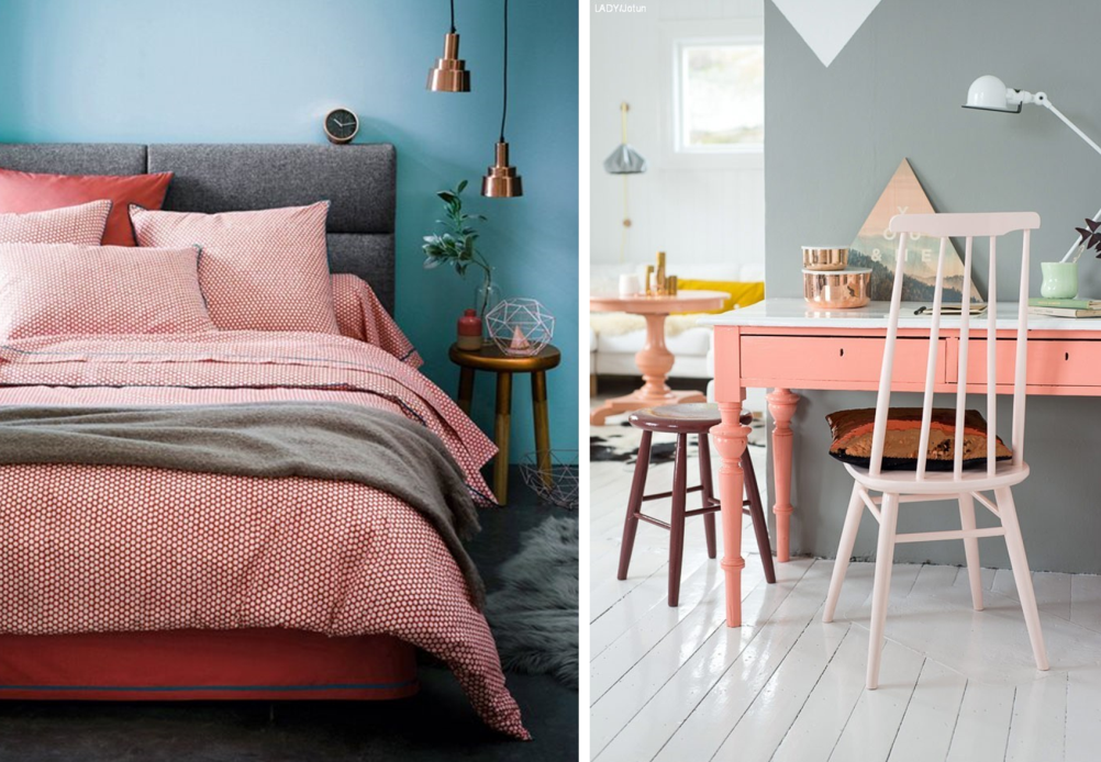Le corail couleur tendance t 2016 bnbstaging le blog - Associations de couleurs ...