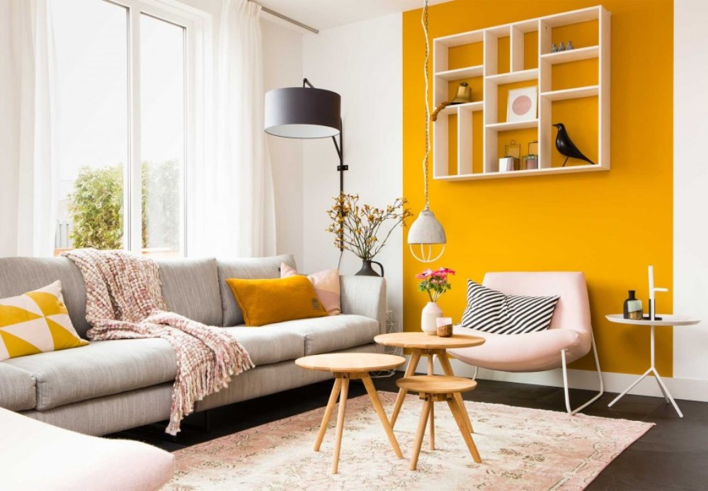 jaune curry couleurs et styles lui associer bnbstaging le blog. Black Bedroom Furniture Sets. Home Design Ideas