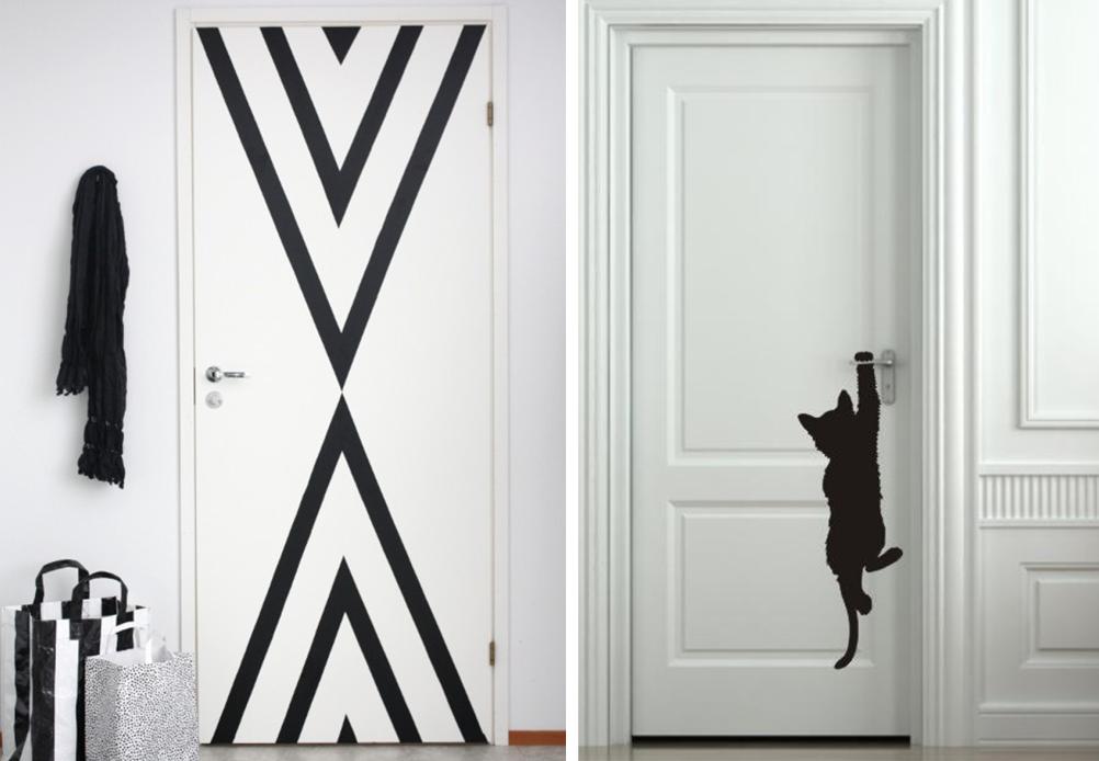 22 id es pour d corer les portes d 39 int rieur bnbstaging. Black Bedroom Furniture Sets. Home Design Ideas