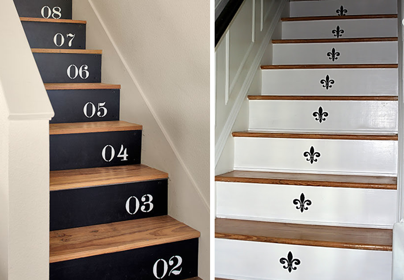 20 id es d co pour relooker votre escalier bnbstaging le blog - Deco salon avec escalier ...