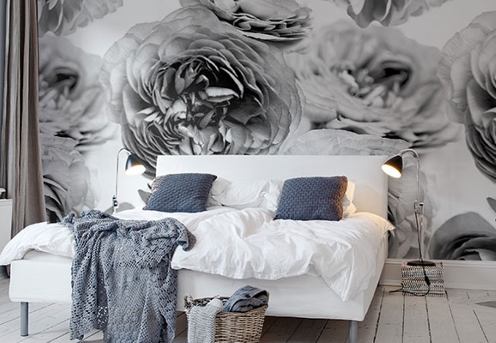 Papier peint floral, Rebel Walls - BnbStaging le blog