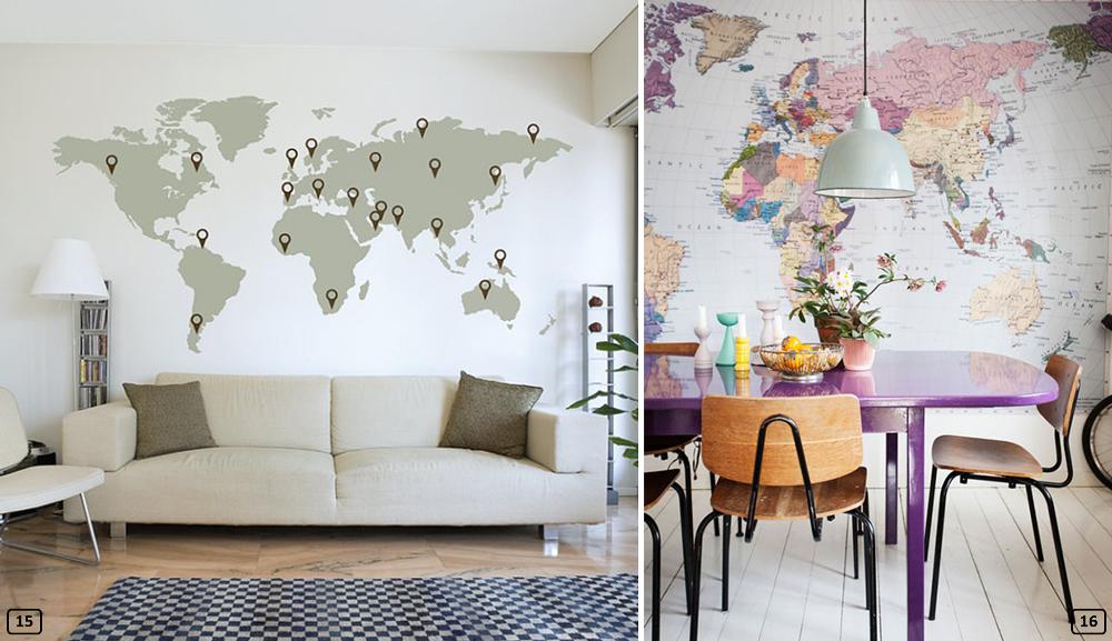 planisph res 16 id es d co originales bnbstaging le blog. Black Bedroom Furniture Sets. Home Design Ideas