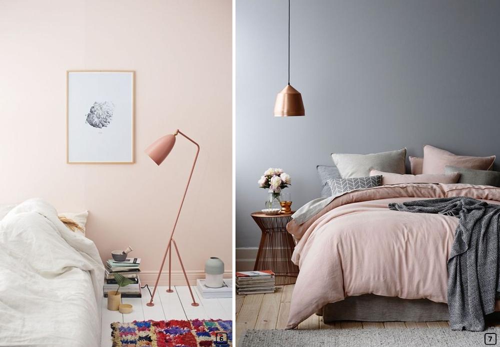 Le rose poudré, blush, couleur été 2017 - BnbStaging le blog