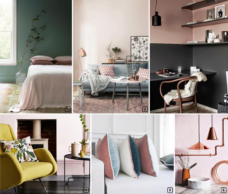 Le rose poudr blush couleur t 2017 bnbstaging le blog - Quelle couleur associer au rose poudre ...