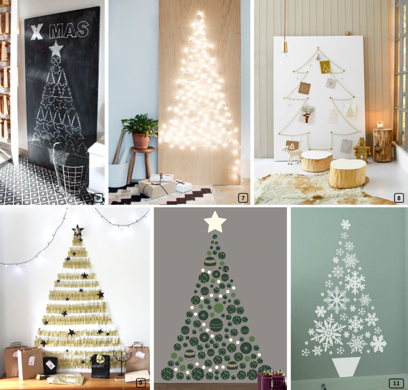 20 id es de sapins de no l originaux diy bnbstaging le blog for Idees sapin de noel