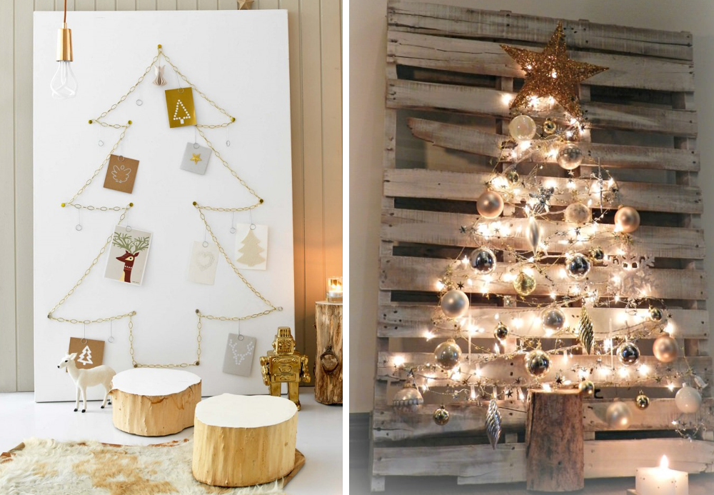 20 id es de sapins de no l originaux diy bnbstaging le blog - Sapin de noel diy ...