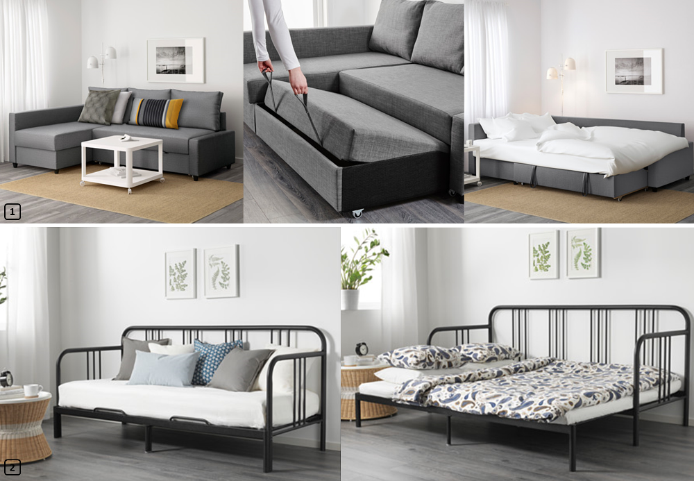lits d 39 appoint 2 en 1 pour locations saisonni res bnbstaging le blog. Black Bedroom Furniture Sets. Home Design Ideas