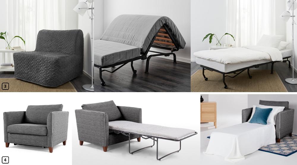 fauteuil lit d appoint 1 personne beautissu matelas pliant duappoint campix pouf pliable x cm. Black Bedroom Furniture Sets. Home Design Ideas
