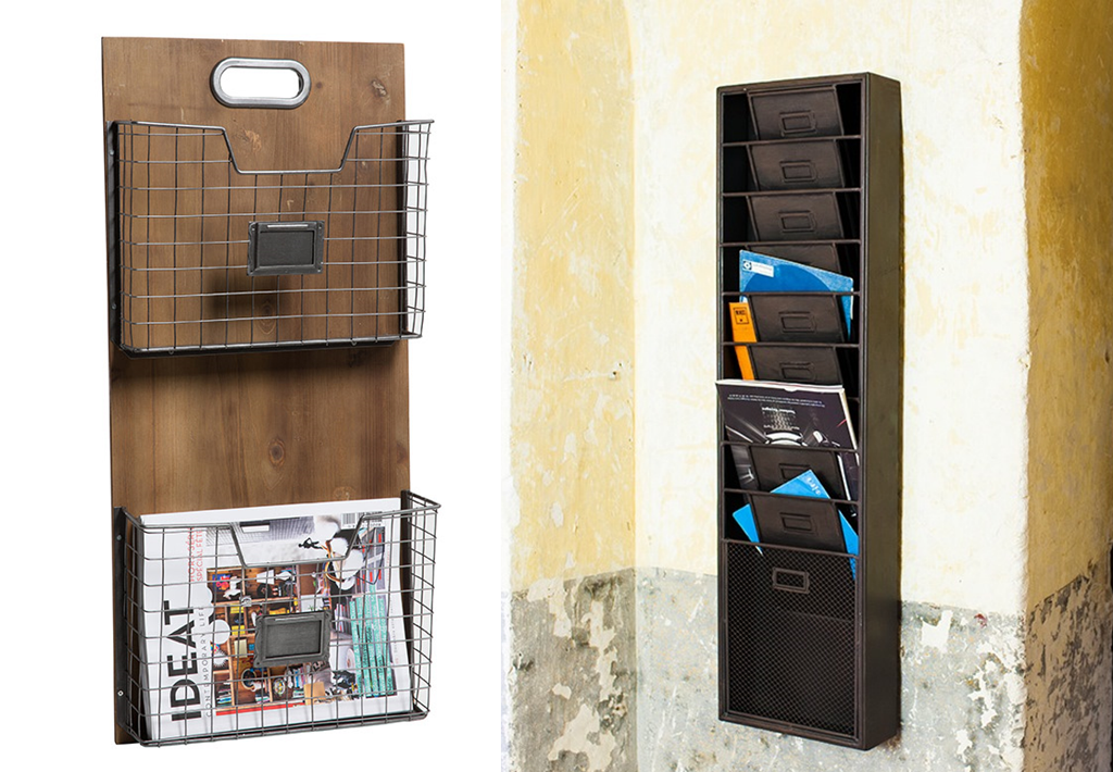O trouver un porte revues design et en m tal bnbstaging le blog for Range courrier mural metal