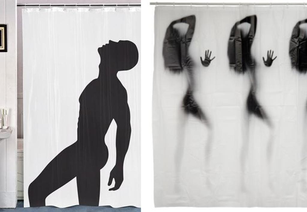 Rideau Salle De Bain Castorama : Rideaux douche silhouettes nues Cdiscount et Gifi – BnbStaging le blog