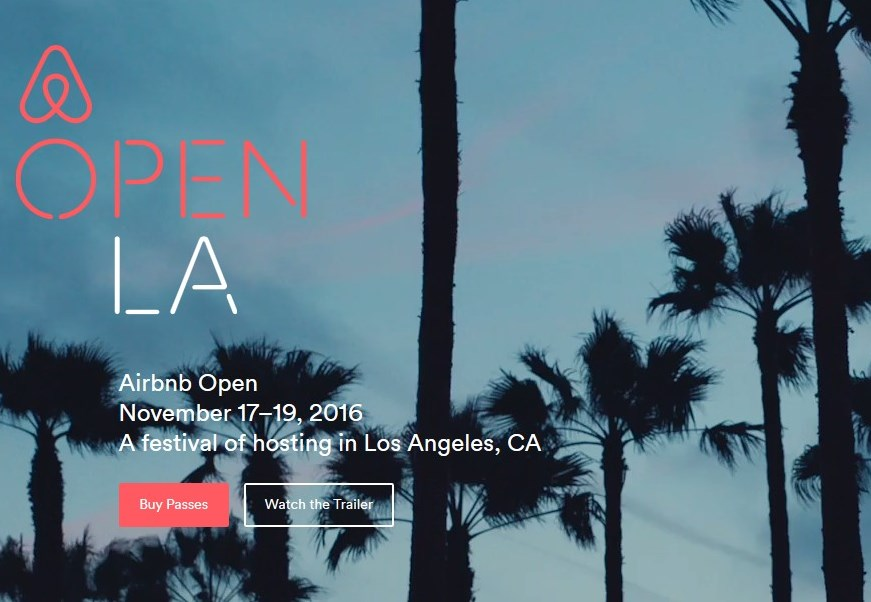 Airbnb Open 2016 à Los Angeles