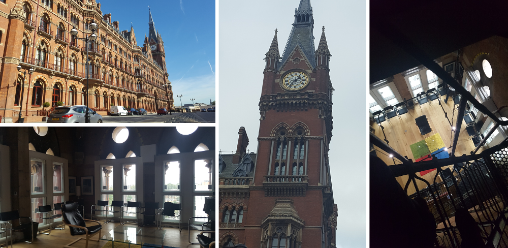 Tour St Pancras a Londres pour la conference YourWelcome