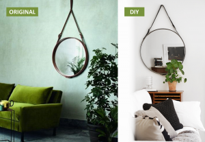 Miroir original Adnet et son DIY - BnbStaging le blog