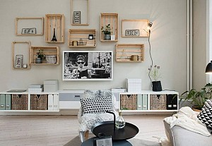 Deco cagettes, Alvhem - BnbStaging le blog