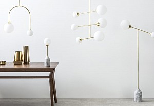 Lampes boules chez Faye, via made.com - BnbStaging le blog