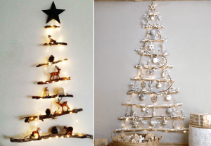 Sapin mural DIY - BnbStaging le blog