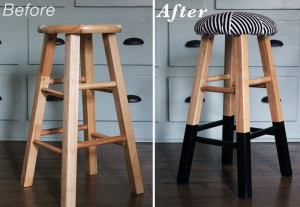 DIY relooking tabouret, Sarah Hamilton via eHow
